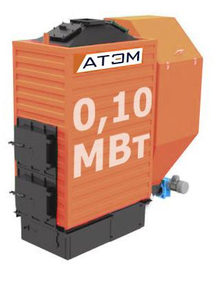 Котел на лузге GB-100m (КВ-0.1Л)