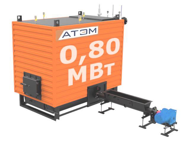 Водогрейный котел на лузге GB-800m (КВ-0,8Л)