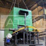Механизированный водогрейный котел на лузге серии GB-m (КВ-Л) с шурующей планкой