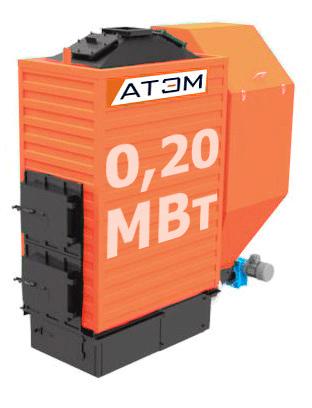Водогрейный котел на лузге GB-200m (КВ-0,2Л)