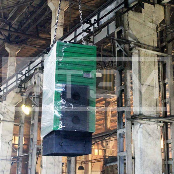 Механизированный водогрейный котел на лузге серии GB-m (КВ-Л)