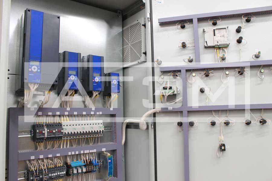 Шкаф управления котлом с частотным регулированием
